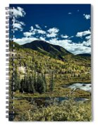 A Colorado Autumn Spiral Notebook