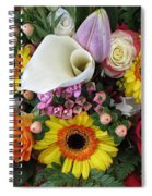 A Colorful Bouquet Spiral Notebook