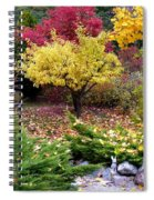 A Colorful Fall Corner Spiral Notebook