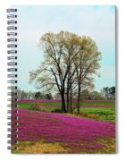 A Colorful Field Spiral Notebook