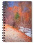 A Colourful Winter Spiral Notebook