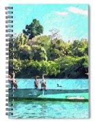 A Cormorant Cruise Spiral Notebook