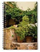 A Corner In Chania Spiral Notebook