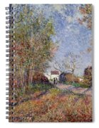A Corner Of The Woods At Sablons Spiral Notebook