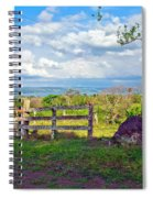 A Costa Rica View Spiral Notebook