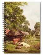 A Cottage Home In Surrey Spiral Notebook