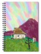 A Cottage In The Alps Spiral Notebook