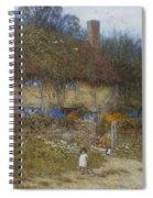 A Cottage Near Godalming Surrey Spiral Notebook