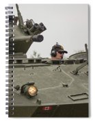 A Cougar With A 76 Mm Bite - Cougar Avgp Spiral Notebook