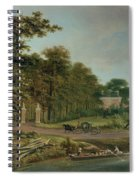 A Country House Spiral Notebook