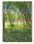 A Country Morning Spiral Notebook