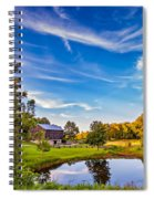 A Country Place 3 Spiral Notebook