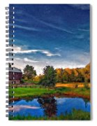 A Country Place Painted Version Spiral Notebook