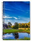 A Country Place Spiral Notebook