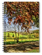 A Country Road Spiral Notebook