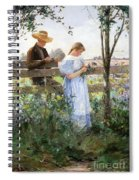 A Country Romance Spiral Notebook