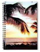 A Couple On The Shore Spiral Notebook