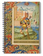 A Court Fool Of The 15th Century. 19th Spiral Notebook