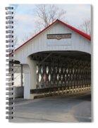 A Covered Bridge Spiral Notebook