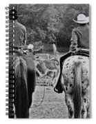 A Cowboys Life Spiral Notebook