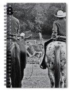 A Cowboys Life Spiral Notebook