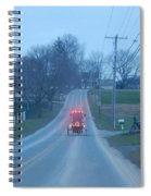 A Cozy Buggy Ride Home Spiral Notebook