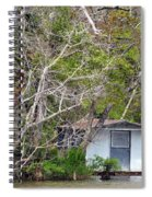 A Cozy Spot On The Apalachicola River Spiral Notebook