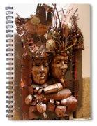 A Creative Metalworks Door Spiral Notebook