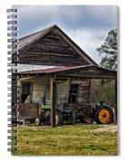 A Crooked Little Barn Spiral Notebook