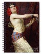 A Damascan Dancer Spiral Notebook