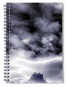 A Dark Heaven's Storm Spiral Notebook