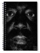 A Dark Proud Man Spiral Notebook