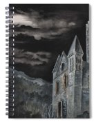A Dark Strange Night  Spiral Notebook
