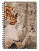 A Date With Paris II Spiral Notebook