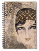 A Date With Paris Spiral Notebook