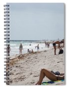 A Day At Paradise Beach Spiral Notebook