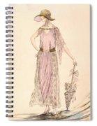 A Day Dress Spiral Notebook