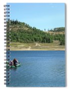 A Day In A Canoe Spiral Notebook