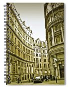 A Day In London Spiral Notebook
