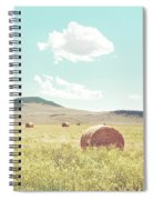 A Day In The Fields Spiral Notebook