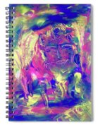 A Day To Meditate Spiral Notebook