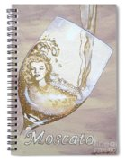 A Day Without Wine - Moscato Spiral Notebook