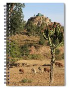 A Biblical Landscape Spiral Notebook