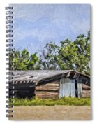 A Deserted Farm Spiral Notebook