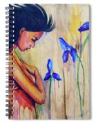 A Different Kind Of Blue Spiral Notebook