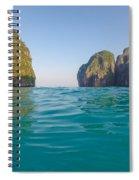 A Dip In Maya Spiral Notebook