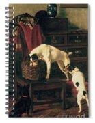 A Discreet Inquiry Spiral Notebook
