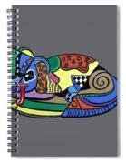 A Dog Named Picasso T-shirt Spiral Notebook