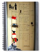 A Door About Family Spiral Notebook