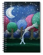 A Dream In The Forest Spiral Notebook